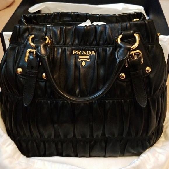 1b0e8d25e07e Prada Bags   Nappa Gaufre Nero Handbag Brand New   Poshmark